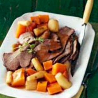 Classic Pot Roast with Winter Veggies