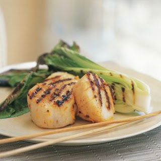 Five-Spice Grilled Scallops