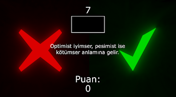 Screenshot of Doğru Yanlış
