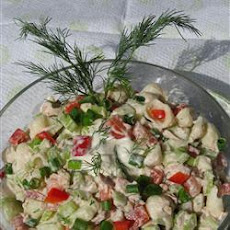 Tuna and Dill Pasta Salad