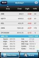 Screenshot of Investar: Indian Stock Market