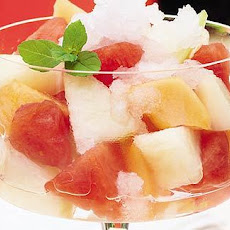 Melon Salad With Grappa Granita