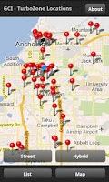 Screenshot of TurboZone Map