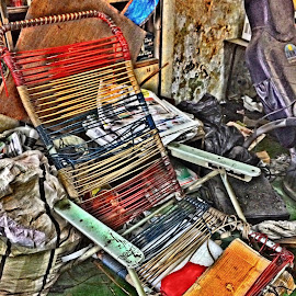 Old by Mohd Ibrahim - Artistic Objects Furniture