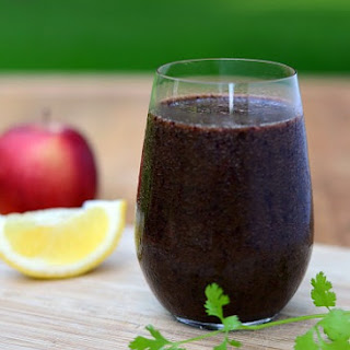 "Blueberry ""Green"" Smoothie"