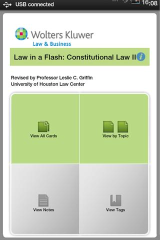 LIAF: Constitutional Law II