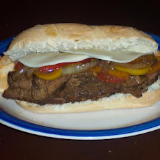 Southwest Steak and Pepper Sandwich