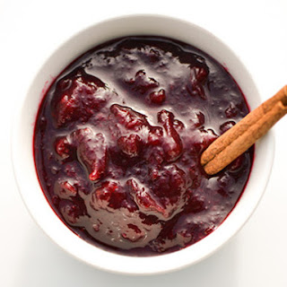 Spiced Red Wine Cranberry Sauce