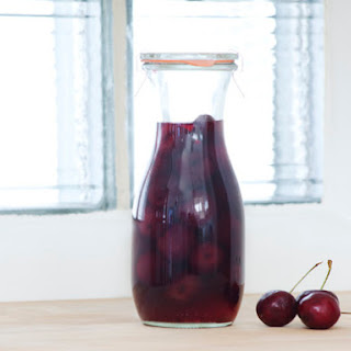 DIY Cherry Liqueur