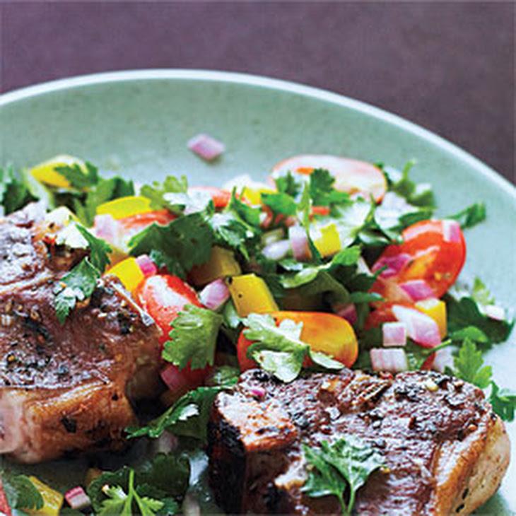 Tomato-Parsley Salad