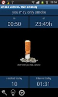 Screenshot of Smoke Control / Quit Smoking