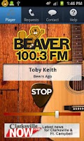 Screenshot of Beaver 100.3