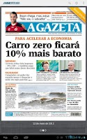 Screenshot of A Gazeta