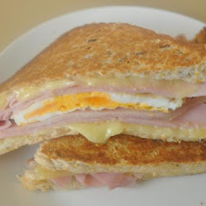 Jude's Grilled Ham and Egg Sandwich