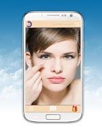 Screenshot of Makeup Mirror Pro + Selfie Cam