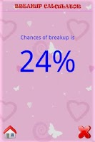 Screenshot of Breakup Calculator