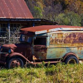 Hillbilly Ride by Greg Reeves - Transportation Automobiles ( automobiles, truck, hillbilly ride, automobile, dodge,  )