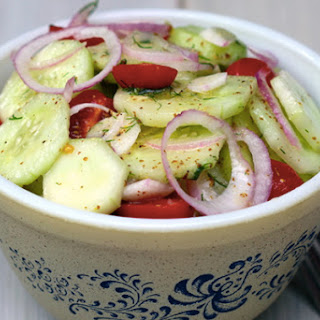 Tomato Cucumber Salad Balsamic Recipes