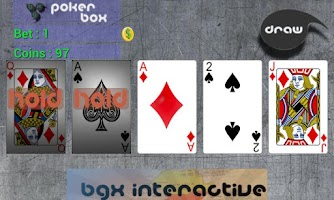 Screenshot of PokerBox - Video Poker