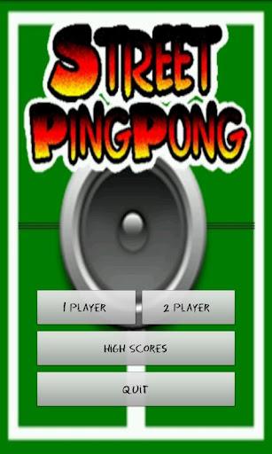 Street Ping Pong