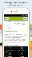 Screenshot of Recettes de cuisine (12000)