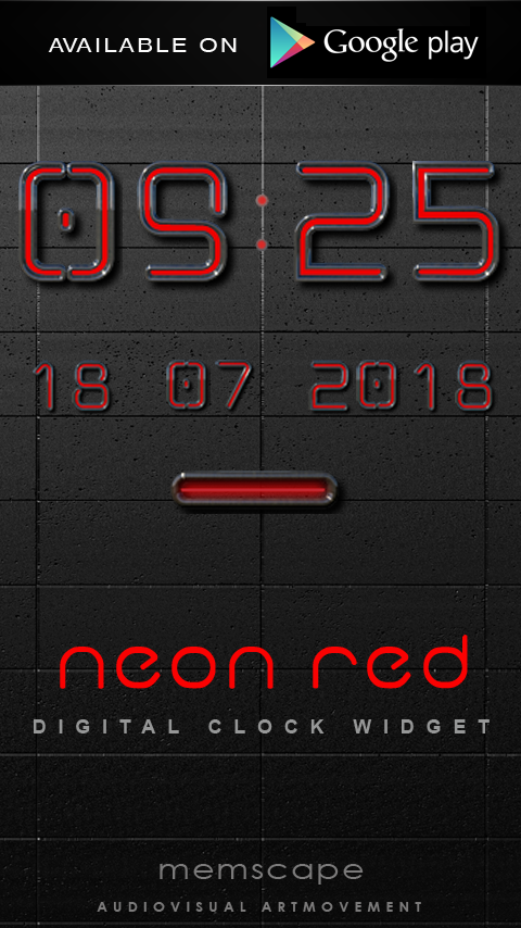 Next Launcher Theme Neon Red Screenshot 6