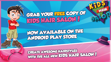 Screenshot of Kids Hair Salon