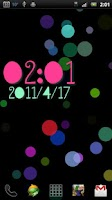 Screenshot of PolkaDotsFlow! Live Wallpaper