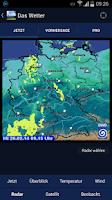 Screenshot of Das Wetter in Deutschland