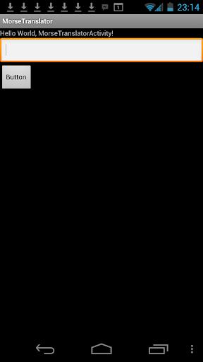 ardunoid MorseTranslator
