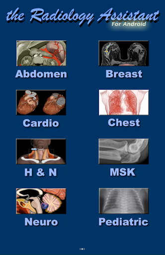 Radiology Assistant - screenshot