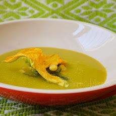 Pumpkin Flower Soup