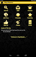 Screenshot of Way2 Quotes and Proverbs Free