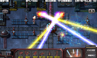 Screenshot of Defense Matrix: Alien Invasion