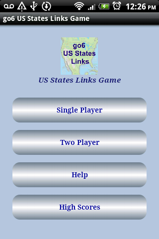 go6 US States Links game FREE