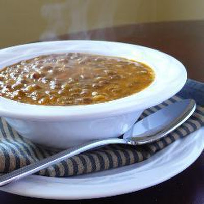 Greek Lentil Soup (Fakes)