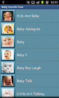 Screenshot of Baby Sounds Free