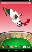 Screenshot of Mexico World Cup Wallpaper LWP