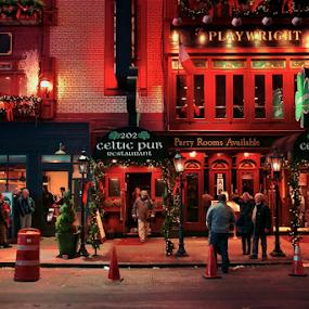 CELTIC 202 by Dejan Gavrilovic - City,  Street & Park  Street Scenes