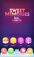 Screenshot of Sweet Memories GO Theme