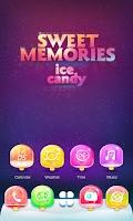 Screenshot of Sweet Memories GO Theme