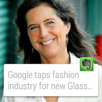 Screenshot of Evernote for Android Wear