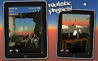 Screenshot of Let's Break Stuff! slingshot