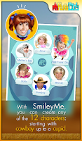 Screenshot of SmileyMe
