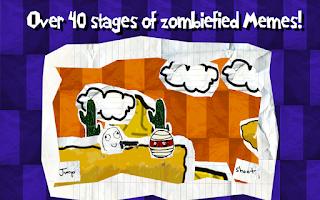 Screenshot of Memes Troll Zombies