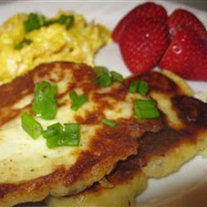 Crispy Mashed Potato Pancake