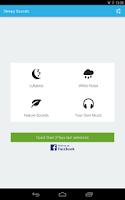 Screenshot of Sleepy Sounds (Baby + Adults)