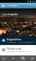 Screenshot of Los Angeles Guide by Triposo