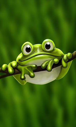 【免費個人化App】Cute Froggy Pro Live Wallpaper-APP點子