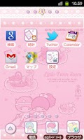 Screenshot of SANRIO CHARACTERS Theme26